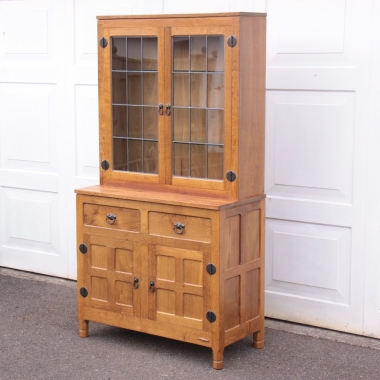 Derek 'Lizardman' Slater Glazed Oak Display Dresser