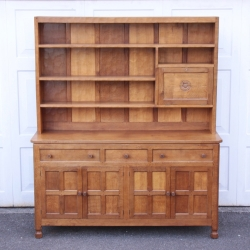 Albert 'Eagleman' Jeffray 5' Oak Welsh Dresser