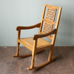 Robert 'Mouseman' Thompson Oak Rocking Chair