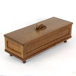 "Don 'Foxman' Craven 16"" Oak Trinket Box"