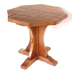 Robert 'Mouseman' Thompson Octagonal Oak Coffee Table