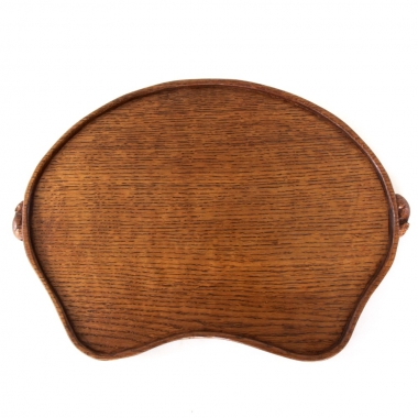 Robert 'Mouseman' Thompson Oak Serving Tray