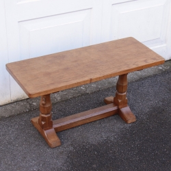 Robert 'Mouseman' Thompson 3' Oak Coffee Table