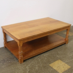 Bob 'Wrenman' Hunter 5' Bespoke Oak Coffee Table