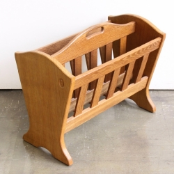 Alan 'Acornman' Grainger Oak Magazine Rack