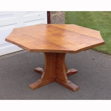 "Robert 'Mouseman' Thompson 4'6"" Oak Dining Table"