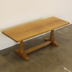 Robert 'Mouseman' Thompson 4' Oak Coffee Table