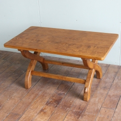 Peter 'Rabbitman' Heap Oak 3' Coffee Table