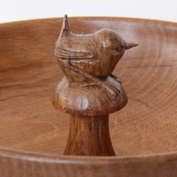 "Bob 'Wrenman' Hunter Oak 9"" Bowl"